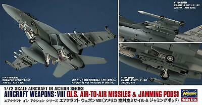 Hasegawa 1/72 the United States Air Force Aircraft Weapon VIII American air JP