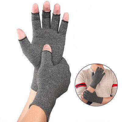 KF_ Finger Arthritis Compression Gloves Hand Wrist Joint Pain Relief Support N