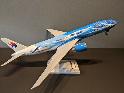 """Skymarks Models 1:200 Malaysia """"Freedom Of Space"""" 777-200"""