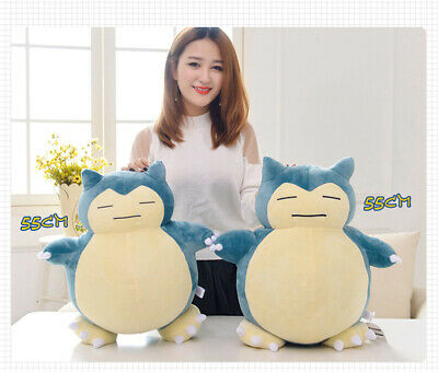 Stuffed Pokemon Character Snorlax Soft Toys Plush Doll Christmas Collection 30cm
