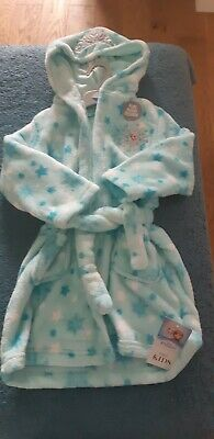 FROZEN Elsa Dressing gown 4-5 years with hood