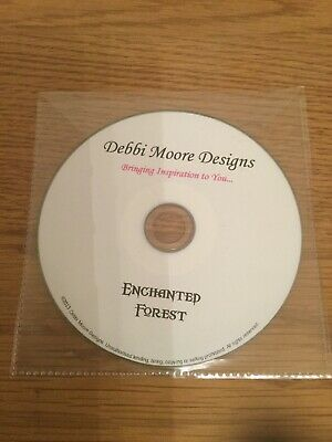 Debbi Moore Enchanted Forest Paper Crafting Cd Rom Card Making Craft Disc