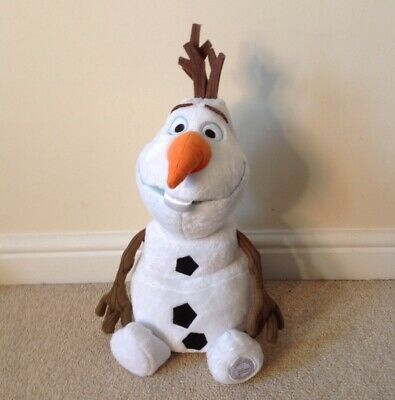 Brand New Disney Store Frozen 2 Olaf Snowman Large Soft Toy