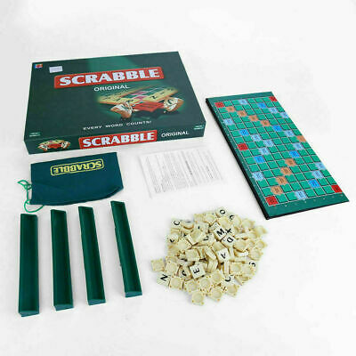 Scrabble Board Game Family Kids Adults Educational Toys Puzzle Game G1E4X