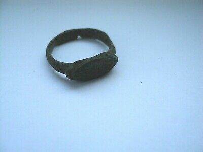 Ancient Rome. Bronze ring-found with a metal detector