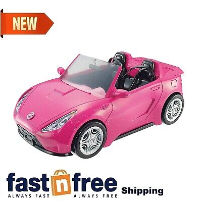 Doll Glam Convertible Car Hot Seats Shine Vehicle Accessories Realistic Design