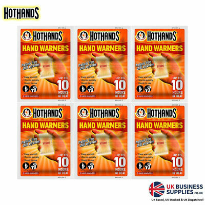 HotHands Long Lasting Hand Warmers (Pair) Up to 10 Hours of Safe Heat Sachets!
