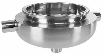 """BVV Jacketed Hemispherical Reducers with 1/2"""" FNPT Drain Port"""