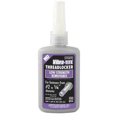 EXPIRED Vibra-Tite - 111 Low Strength Removable Threadlocker, 50mL