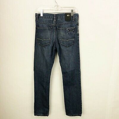 Hugo Boss Boys Size 12 Slim Fit Denim Blue Jeans