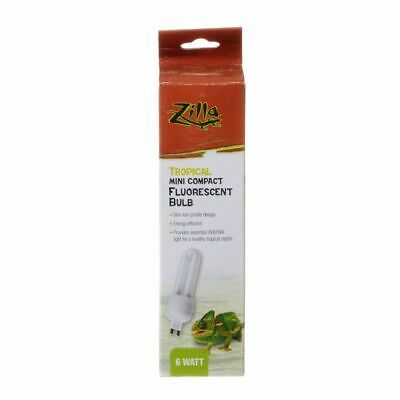 LM Zilla Mini Compact Fluorescent Bulb - Tropical 1 Pack - (6 Watt)