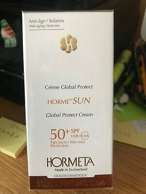 HORMETA CREME GLOBAL PROTECT HORME SUN 50+SPF  Très haute protection 30ml neuf