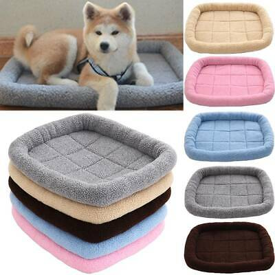 Large Pet Dog Cat Bed Puppy Cushion Mats House Waterproof Kennel Warm Blanket UK