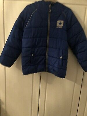 Converse Petrol Blue Boys Puffa Jacket Age 10-12 Years Excellent Used Contion