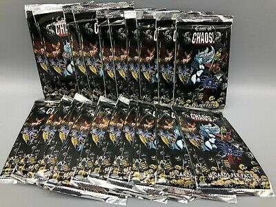 1997 Krome Productions Chromium Cast of Chaos Lot of 20 Packs - Lady Death