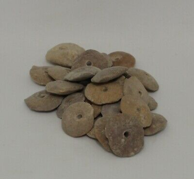 Large Ancient Carved Stone Beads - 221