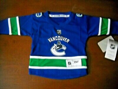 Vancouver Canucks Size 18 Months Baby Infant Kids Jersey Official NHL 18mo