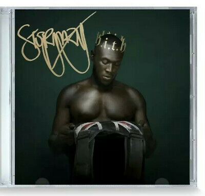 SIGNED - STORMZY - HEAVY IS THE HEAD SIGNED CD Album New 2019 Grime