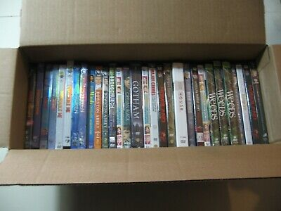 LOT OF 30) DVD Movies & Box Sets all NEW & Sealed Gotham Weeds Downton Abbey ++