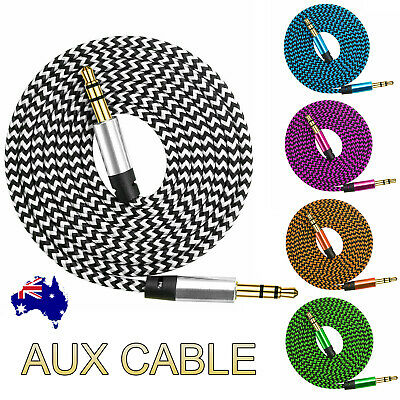 AUX Cable 3.5mm Stereo Audio Extension Male to Male Auxiliary Cord for Car Phone