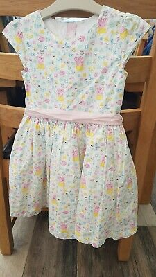 M&S PEPPA PIG party Dress Age 4-5 Great Condition