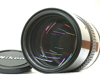 [Excellent+5 w/ Caps] NIKON AI NIKKOR 135mm f/2.8 MF Telephoto Lens From JAPAN
