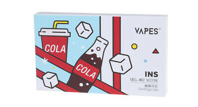 VAPES INS Replacement Pod Cartridge (3-Pack) Black