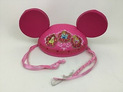 Disney Princess Mouse Ears Disney Theme Parks Pink Hat Childrens Souvenir 84167