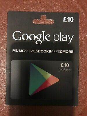Google play gift card - £10