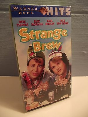 NEW SEALED Strange Brew VHS Rick Moranis Dave Thomas Canadian Comedy Beer