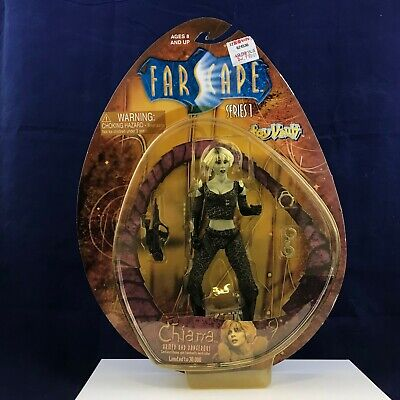Toy Vault Farscape Series 1 Chiana Armed and Dangerous Action Figure - NIP