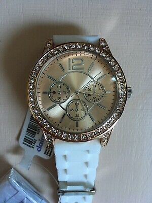 Brand New Girls Diamente Trim Watch from Claire's. Brand New With Tags