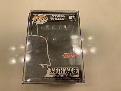 Star Wars Funko POP Futura Darth Vader Target Exclusive With Stacks Protector