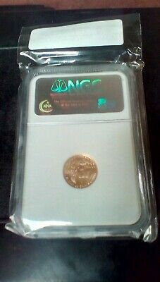 2007 Gold Eagle $5 NGC MS70 Early Releases 1/10 oz Gold