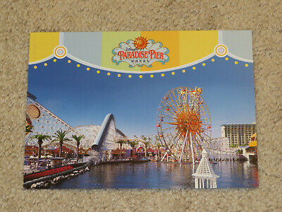 Disneyland Paradise Pier Hotel Postcard Unused Disney's California Adventure