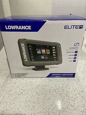Lowrance Elite 7Ti Chartplotter / Fishfinder with Mid/High/DownScan™ transducer
