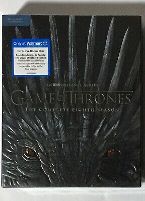 Game of Thrones Season 8 Blu-ray Digital Bonus Disc Brand NEW FREE~First Class!
