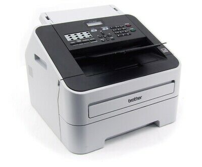 Brother FAX-2840 Black-White S/W B/W Laser Fax Machine Max. 1800 Pages /