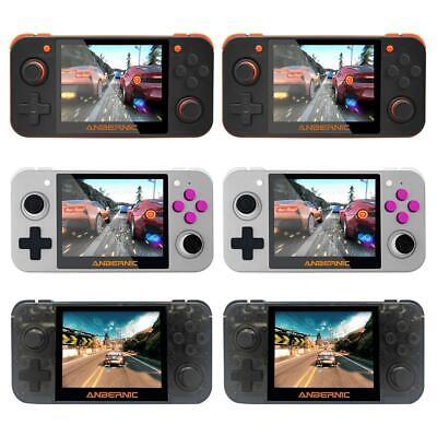 """RG350 IPS Retro Games Handheld Video Games Upgrade Game Console 3.5"""" + 32GB Card"""