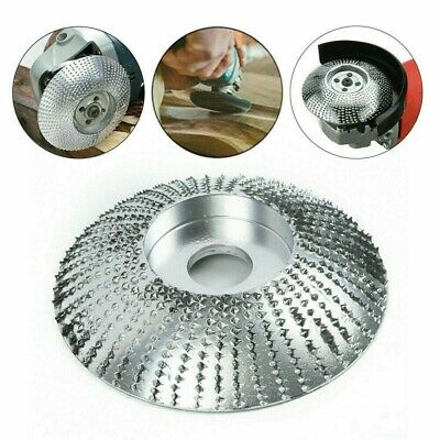 Angle Grinder Grinding Wheel Carbide Wood Disc Sanding Carving Shaping Tool AU