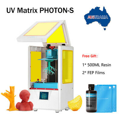 ANYCUBIC Photon S 3D Printer LCD SLA UV Resin Light Cure Fast Slicing Free Resin