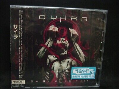 CYHRA No Halos In Hell JAPAN CD In Flames Amaranthe Dream Evil Sinergy Shining