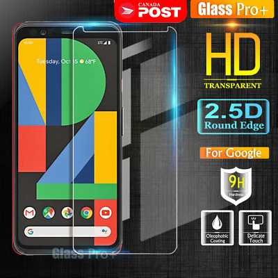 2x For Google Pixel 4 4XL Tempered Glass LCD Screen Protector Guard Film