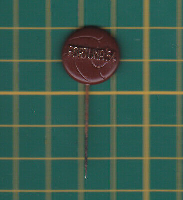 Fortuna '54 football speldje pin badge button 60s vtg