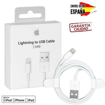 CABLE CARGADOR Y DATOS PARA IPHONE 5 5S 6 6S 7 PLUS USB iOS11 ORIGINAL