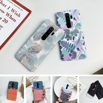For Xiaomi Redmi Note 8 7 Pro K20 Mi 9T 9 A3 Ink Painting Hard Slim Case Cover