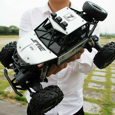 KidsToy 4WD RC Car Monster Truck Off-Road Vehicle 2.4G Remote Control Buggy Gift