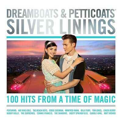 Dreamboats & Petticoats: Silver Linings - Various Artists (Box Set) [CD]