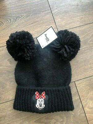 Primark Ladies Disney Minnie Mouse Pom Pom Hat Bnwt