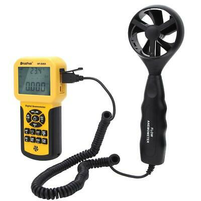 HP-846A Digital Handheld Anemometer Wind Speed Gauge Air Thermometer